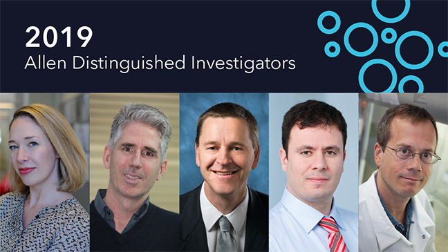 Five New Allen Distinguished Investigators Named