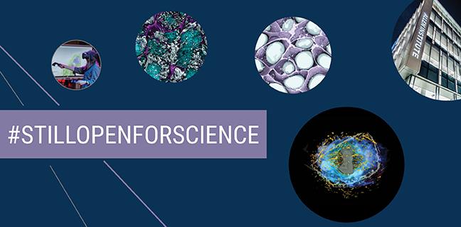 #StillOpenForScience